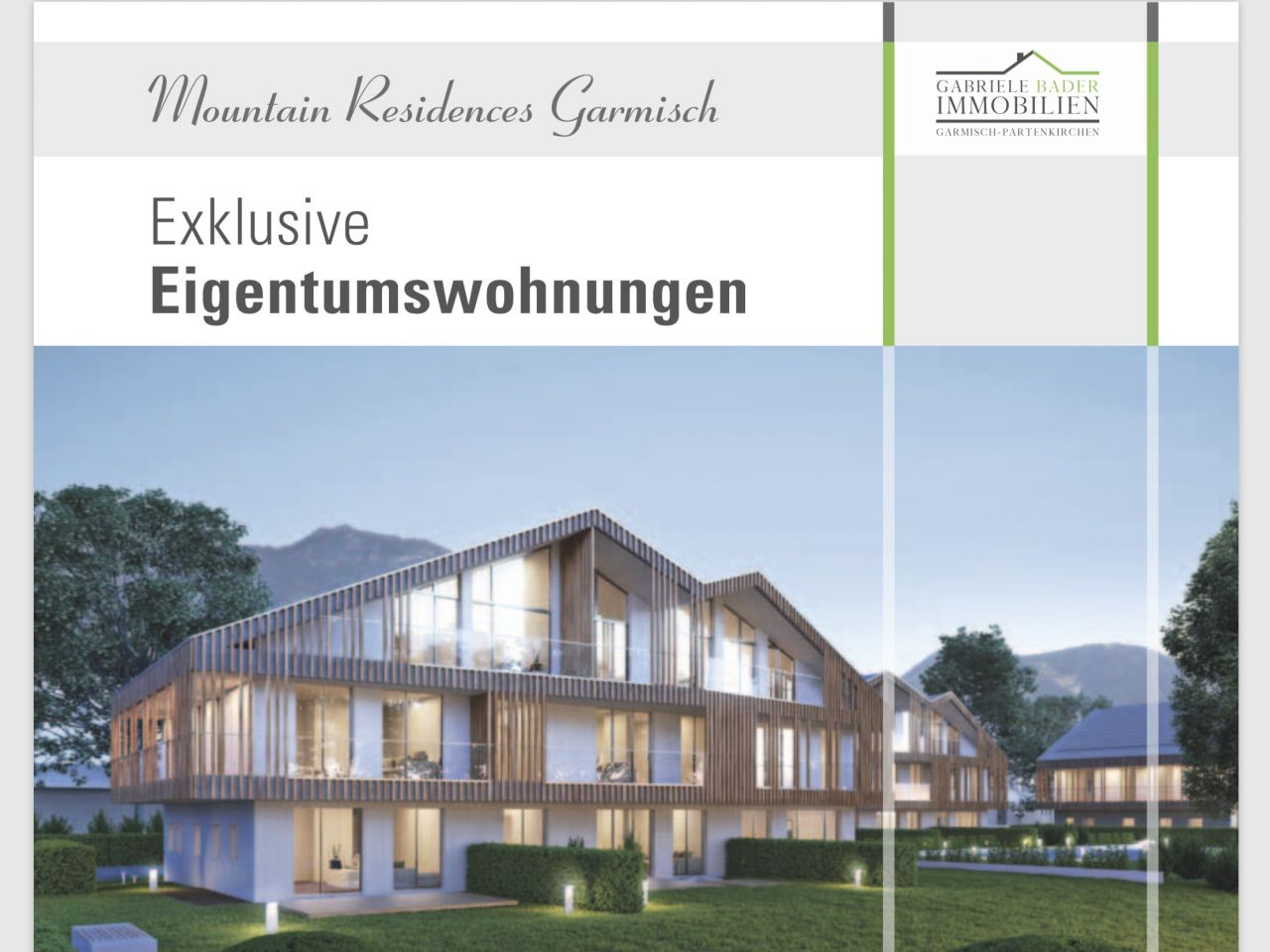 """Mountain Residences Garmisch"""